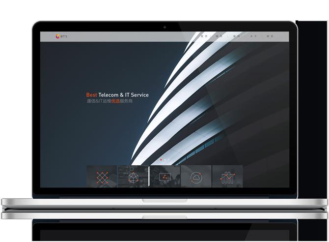品牌网站设计-上海野火创意