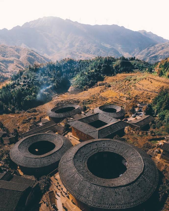 建筑设计·世界文化遗产福建土楼-上海野火创意