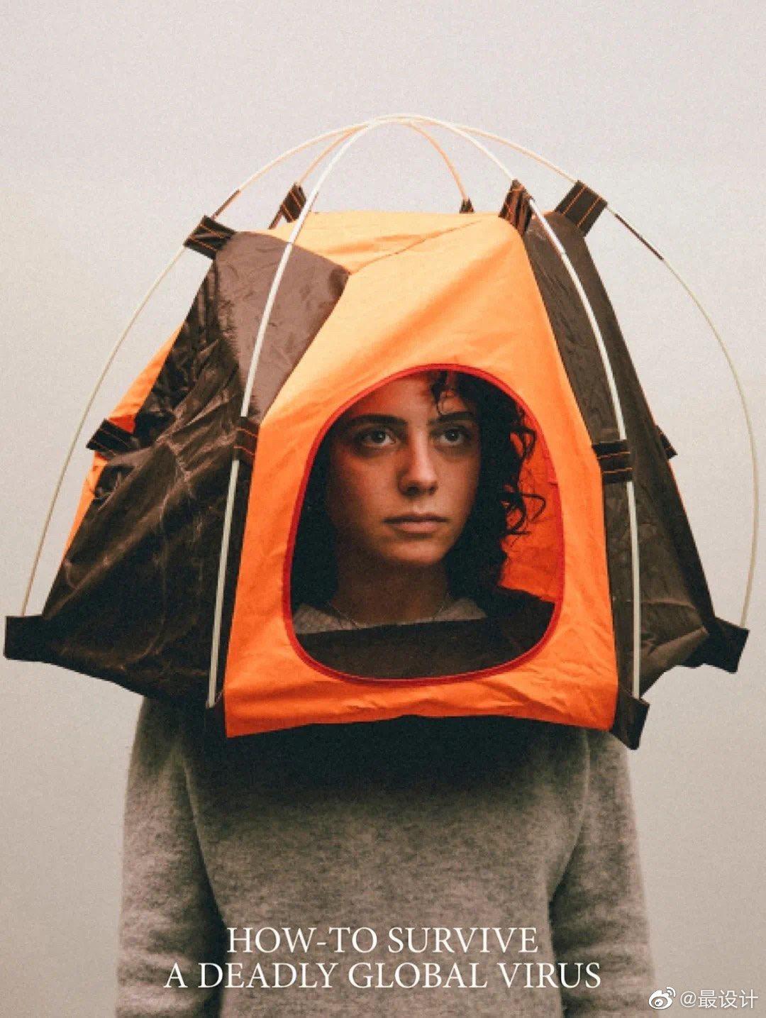 搞怪的口罩创意设计-上海野火创意