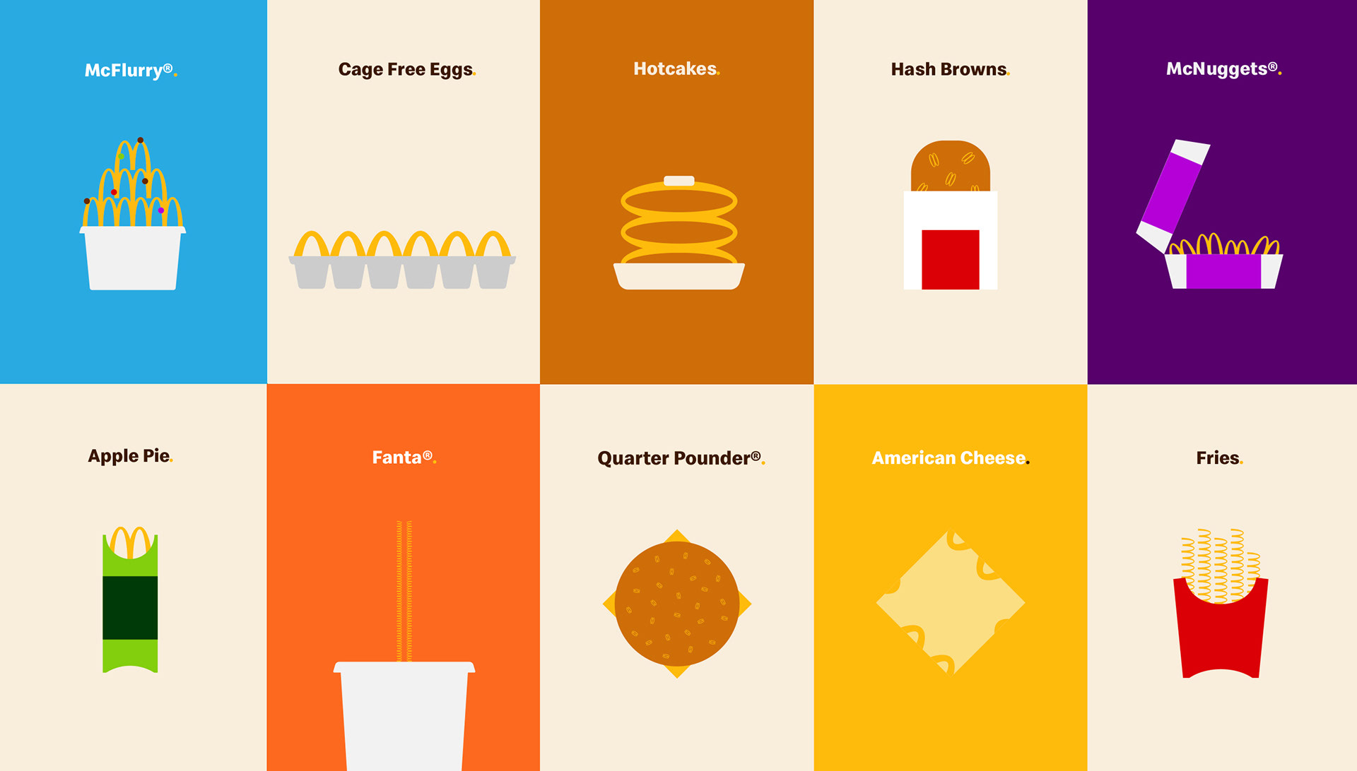 品牌设计·来自麦当劳的启示-上海野火创意