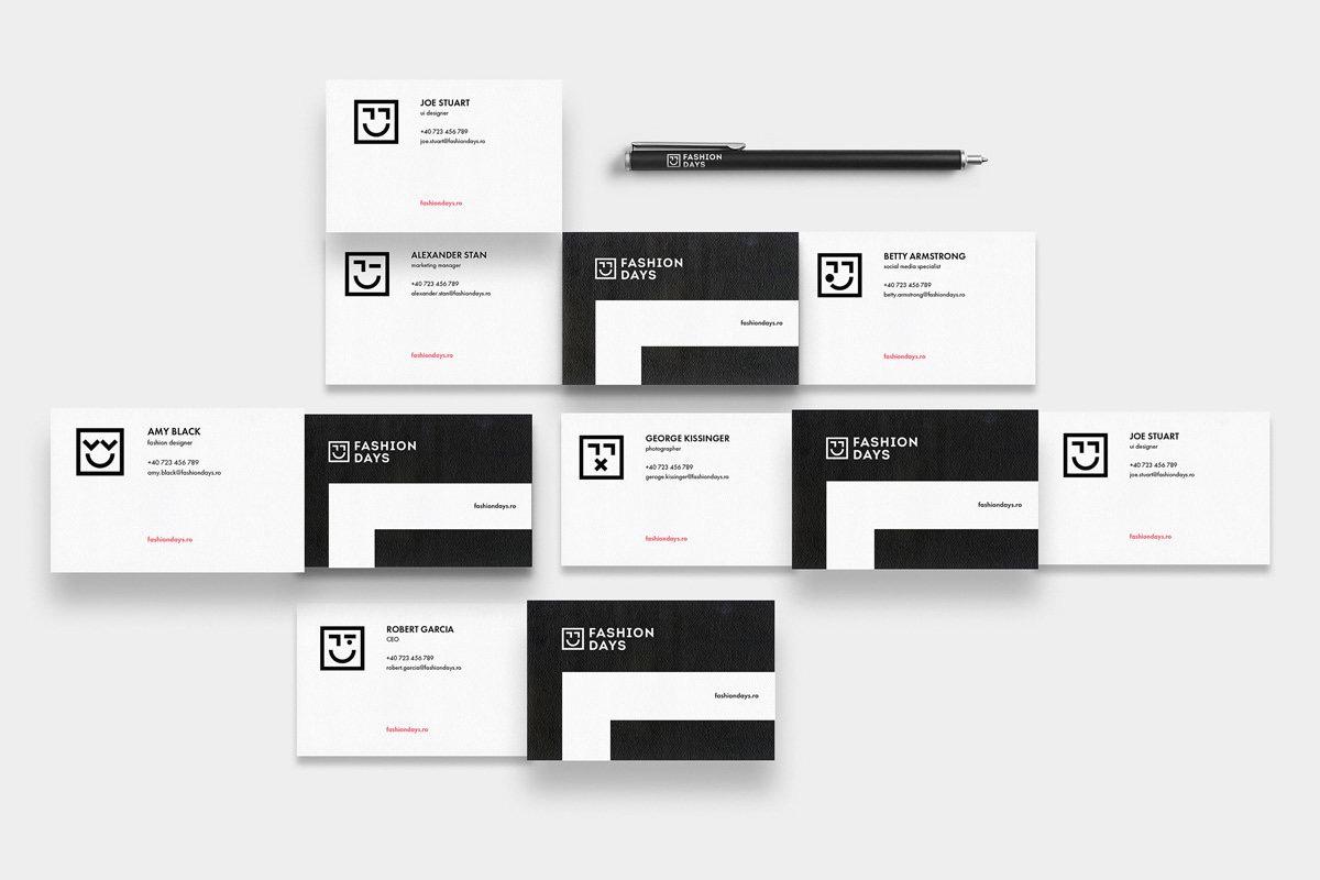 品牌VI设计·黑白是种性格-上海野火创意