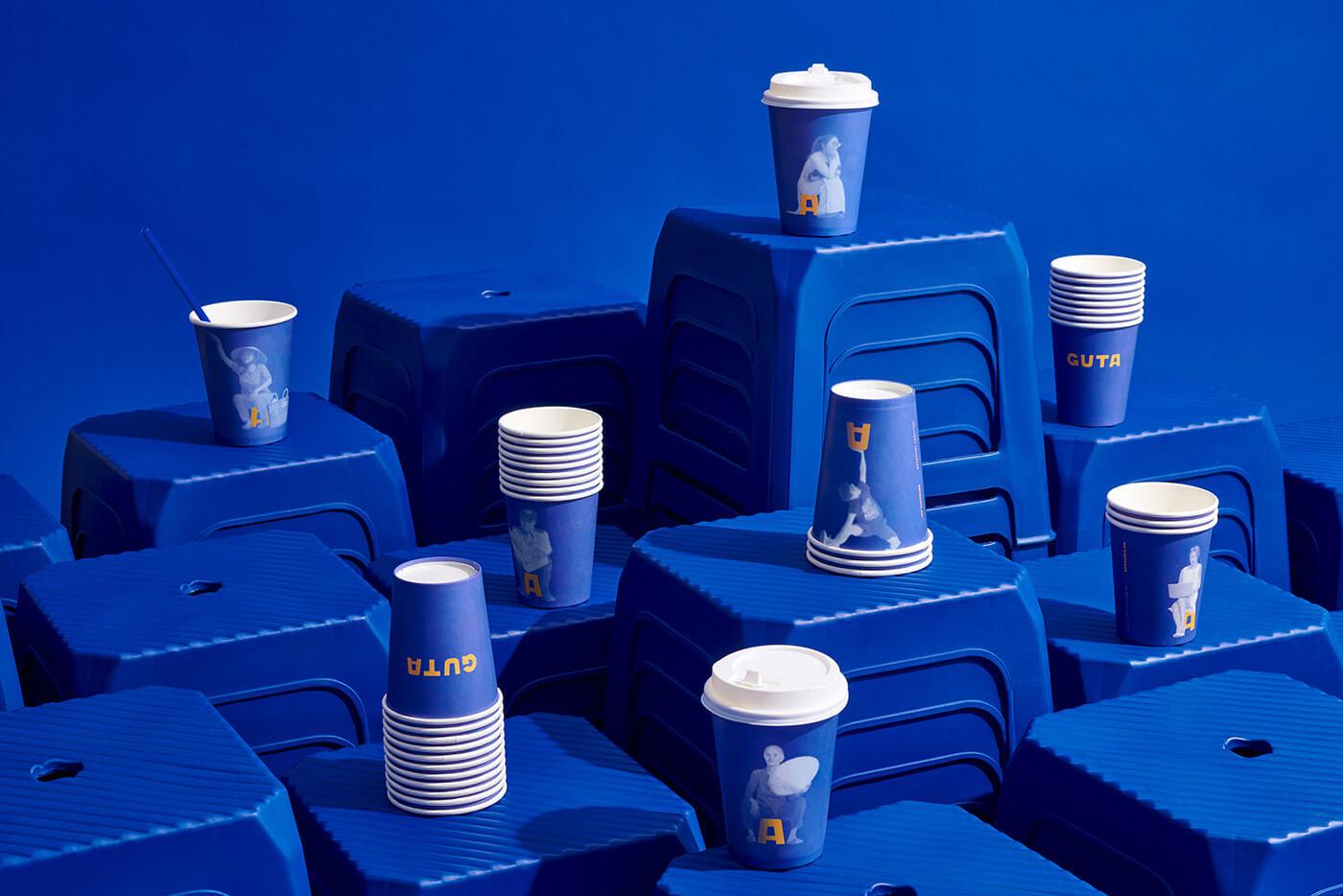 品牌设计|GUTA咖啡品牌设计-上海野火创意